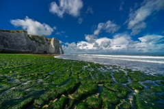 Low Tide at Etretat Beach