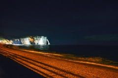Cliff in the Night