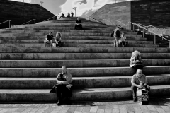 People on the Stair