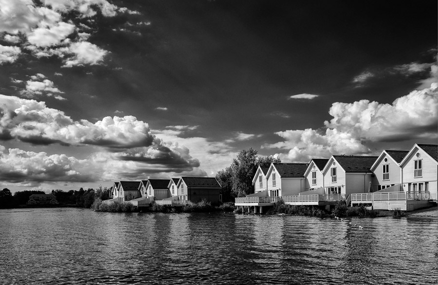 Lake Houses and Clouds