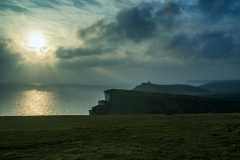 Seven Sisters Sunset Study 1