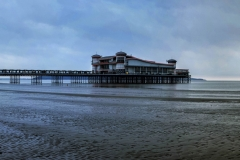 Weston Super Mare at Evening