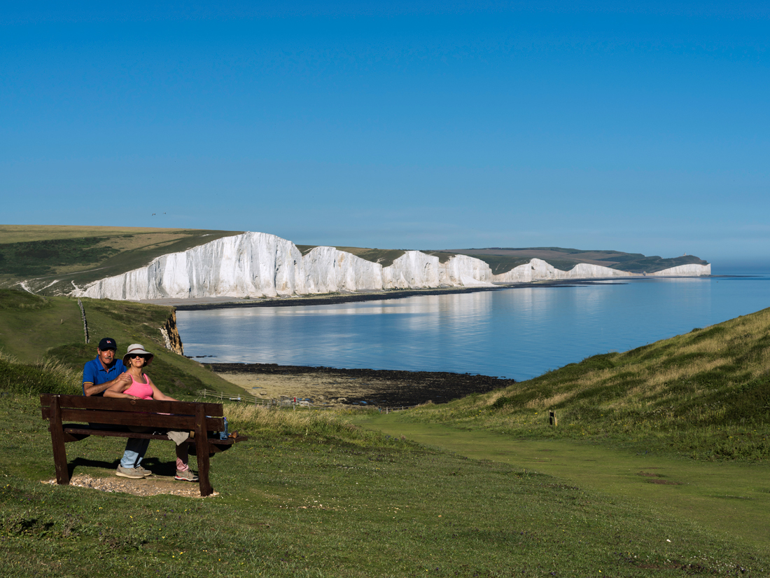 Doris and William at Seven Sisters