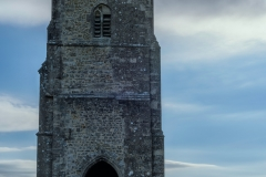 Glastonbury Tor with Figure