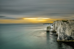Evening at Old Harry Rocks